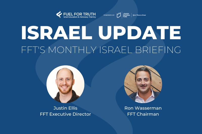 FFT Webinars - Israel Update