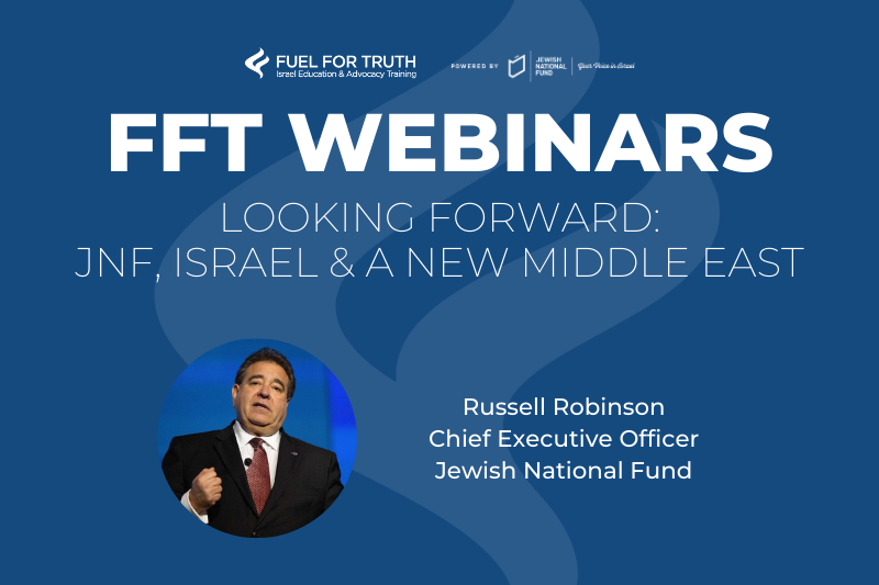FFT Webinars - Russell Robinson Event